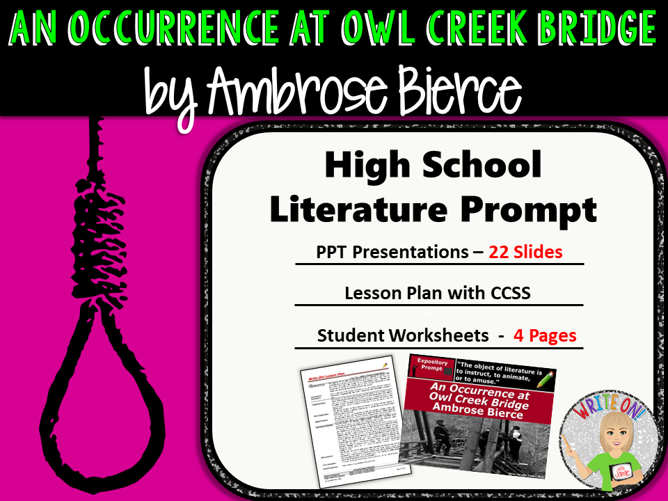 an occurrence at owl creek bridge essay prompt