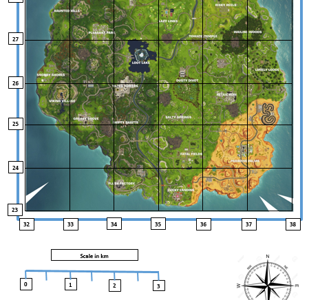 Fortnite Mapskills
