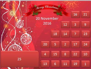 2016 Tutor Group Advent Calendar