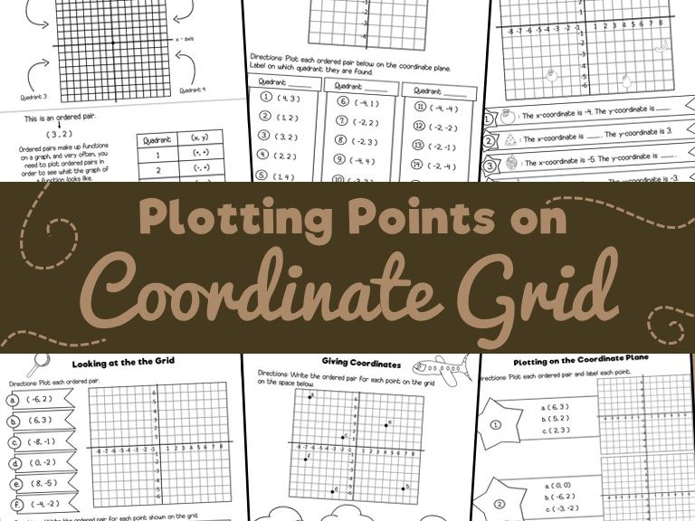 Plotting Points on a Coordinate Grid