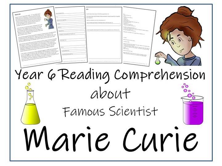 Marie Curie Reading Comprehension