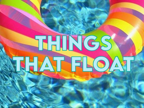 Things that Float Posters EYFS and KS1