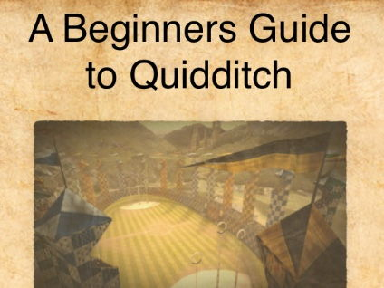 Harry Potter- A First Year's Guide to Quidditch- Explanation Text