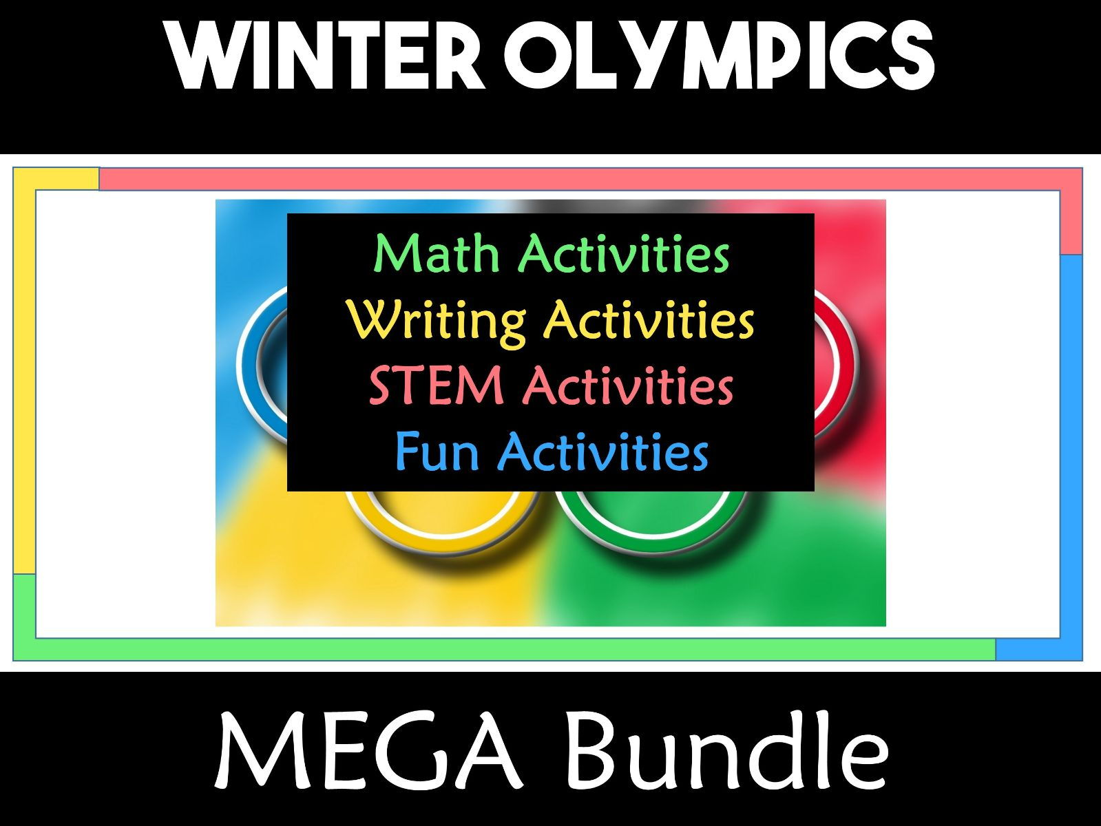Winter Olympics South Korea 2018 Mega Bundle