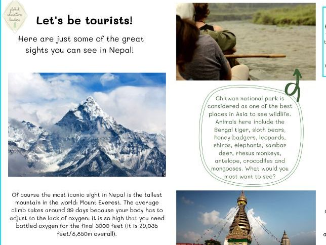 Geography country pack - Nepal (pdf)