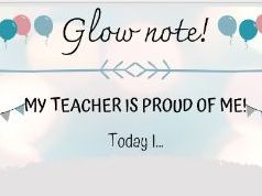 Glow notes