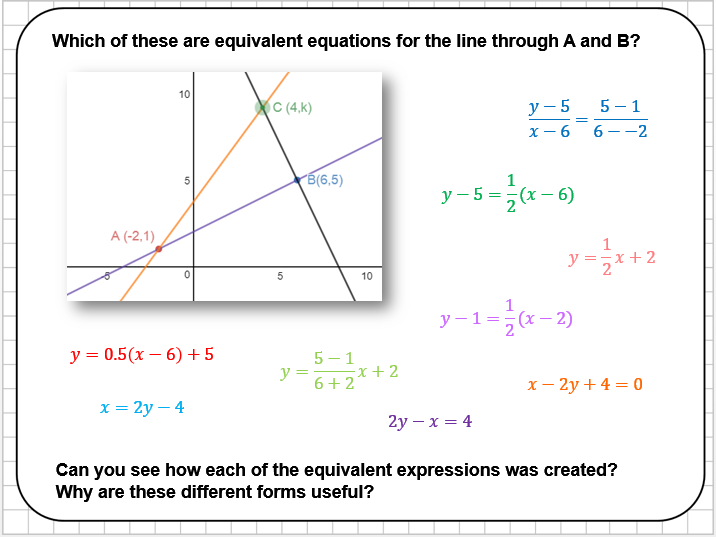 Coordinate Geometry Reasoning Tasks