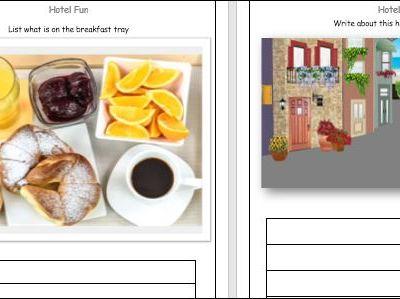 Hotel Fun Worksheets