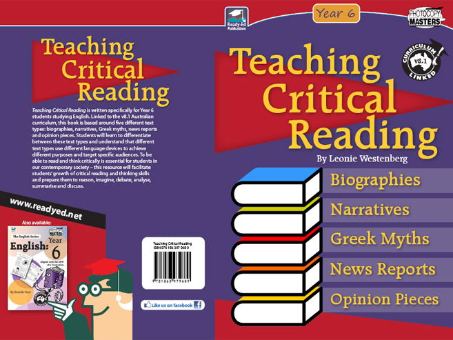 Teaching Critical Reading (Australian E-book)