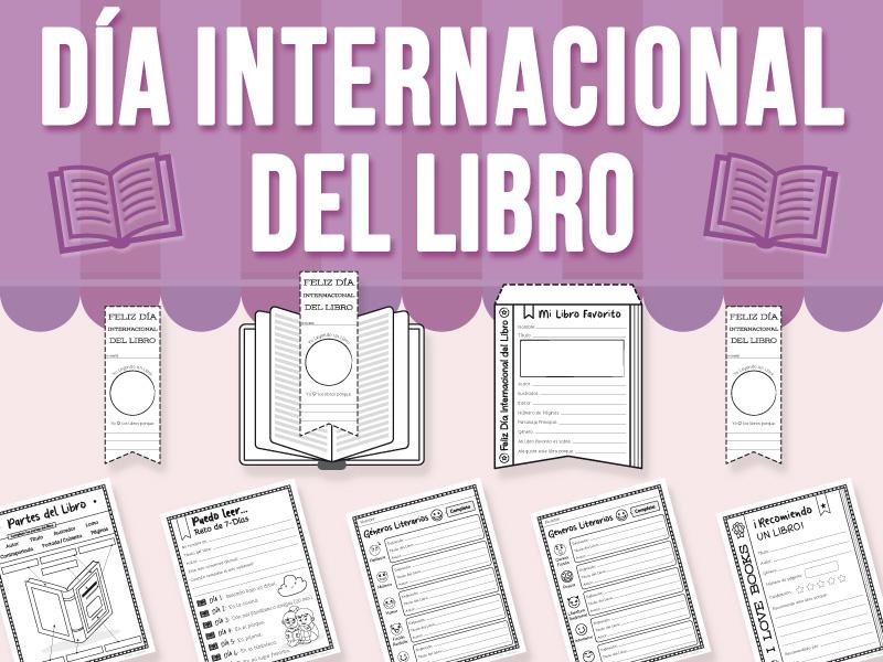 Día Internacional del Libro - Actividad SPANISH VERSION