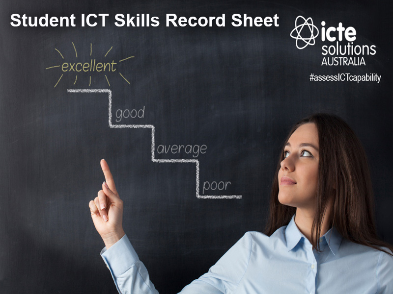 Student ICT Skills Record Sheet