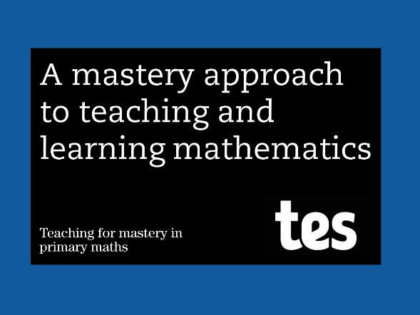 Teacher's guide: Teaching for mastery booklet