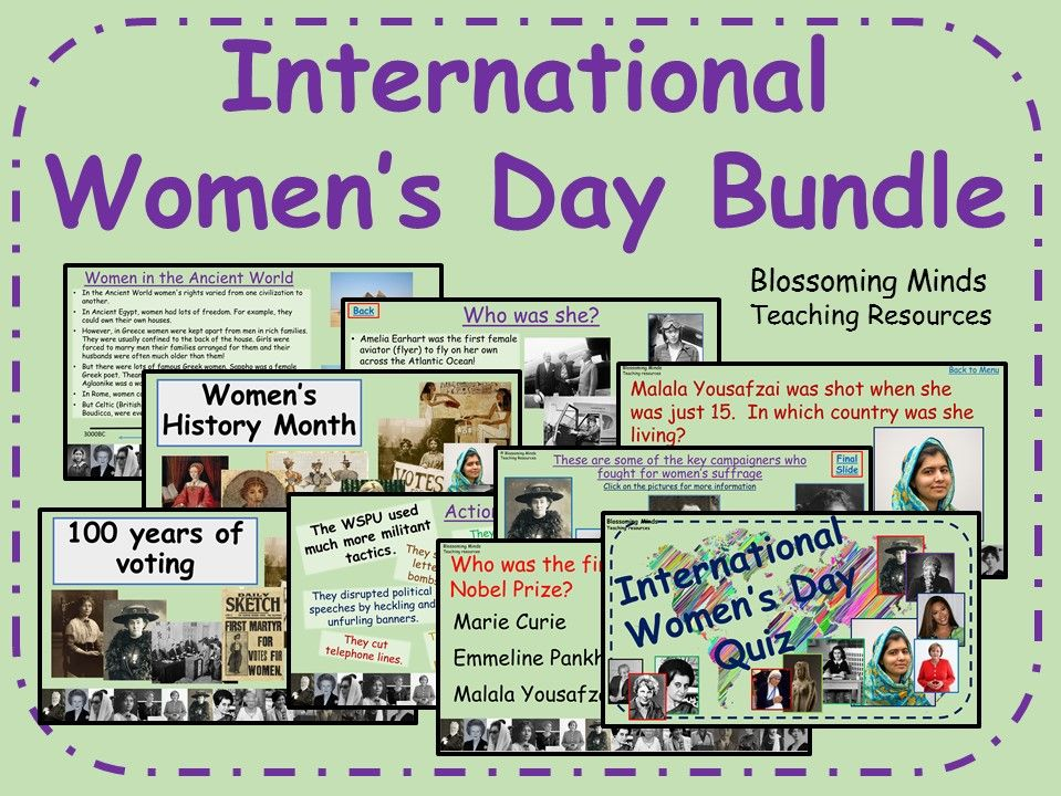 International Women's Day Bundle