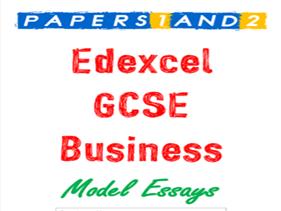 Edexcel GCSE 9-1 Buisness Paper 1 & 2 Essays Booklet