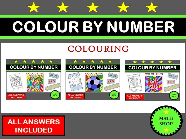 Colour By Number Bundle
