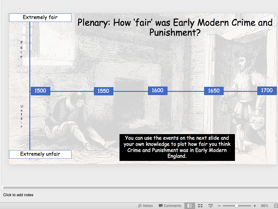 Early Modern Crime and Punishment
