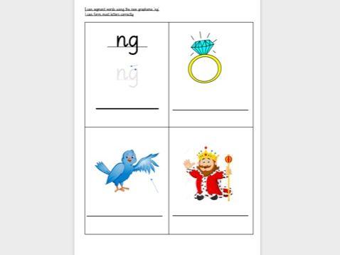 Phase 2&3 Phonics - Writing labels/CVC words