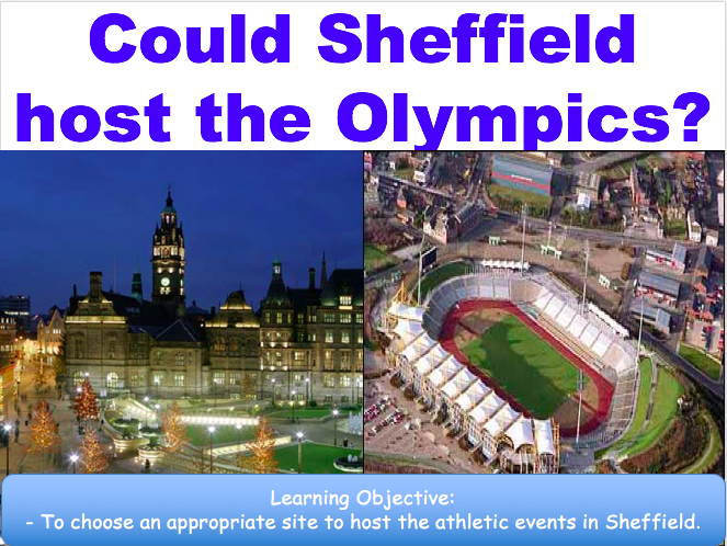 Could Sheffield Host the Olympics? Development