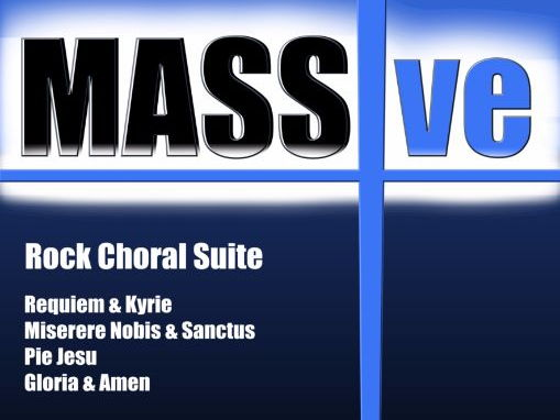 MASSive - A Mass In Rock! (Instrumental Pack Minus Conductor Score)