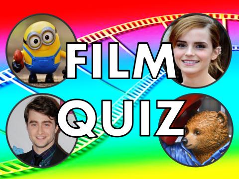 Film Quiz –  movie news, activity, lesson, presentation, end of year, term