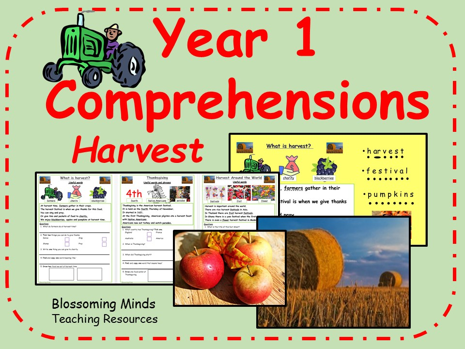 Year 1 comprehensions - Harvest