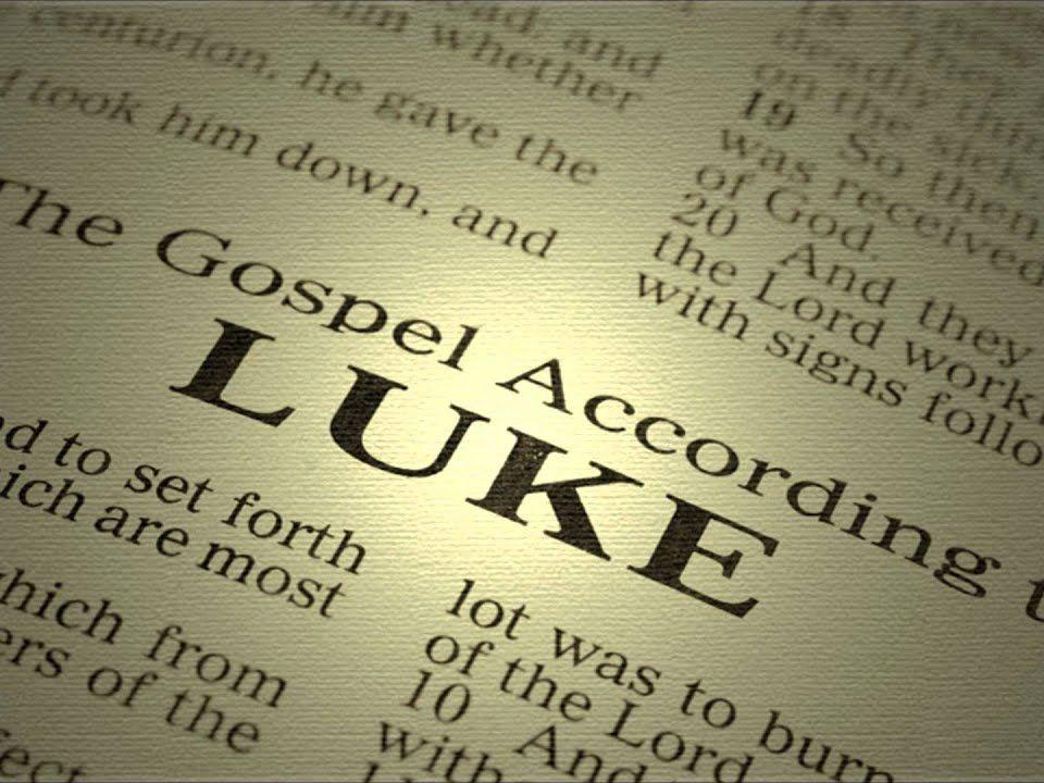 Authorship of Luke's Gospel Essay Plan and finished essay