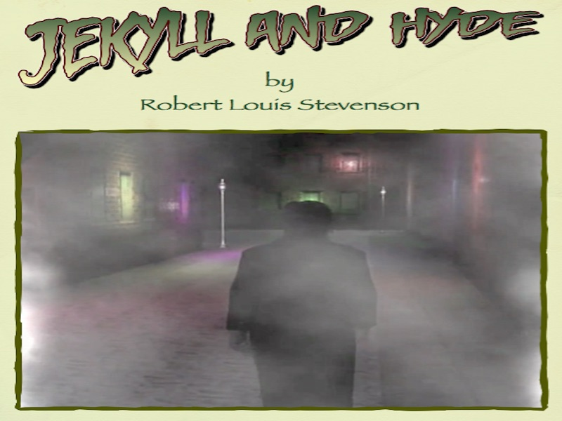 Jekyll and Hyde - Comic Book Part 1