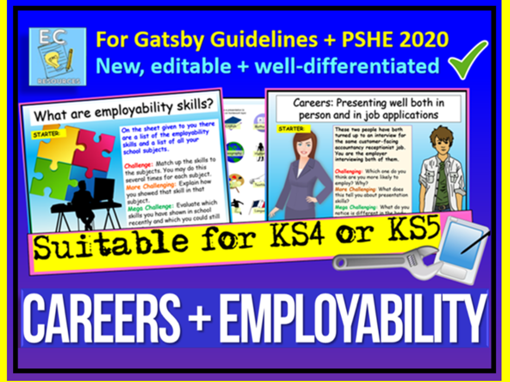 Careers - KS5 PSHE