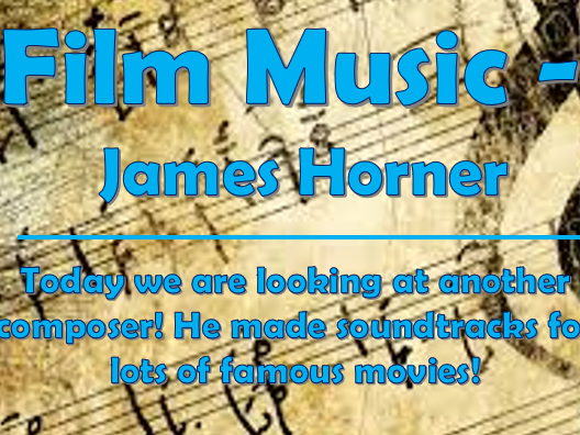 Film Music Composers #3 - James Horner