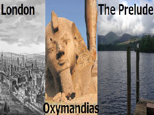 Ozymandias, London, The Prelude Bundle