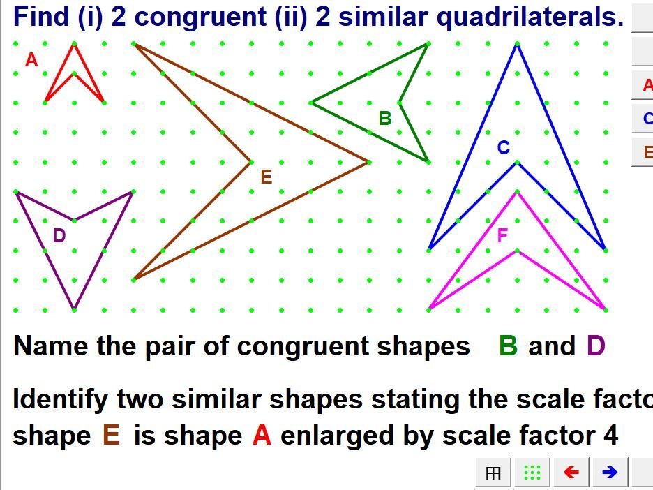 Polygons, Symmetry & Congruence
