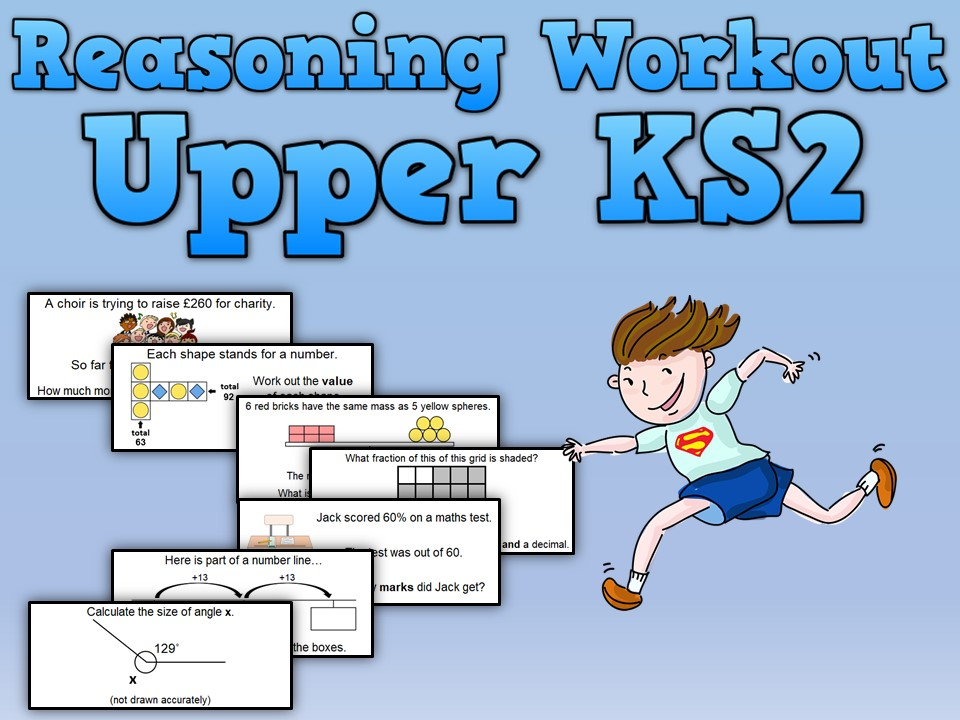 Reasoning Workout for Upper KS2
