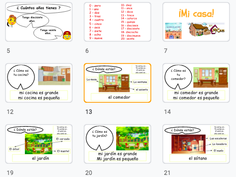 Spanish lesson: Learn the vocabulary for rooms in the house and places in the city