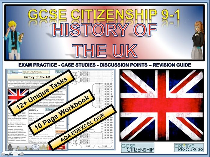 History of the UK Work Booklet