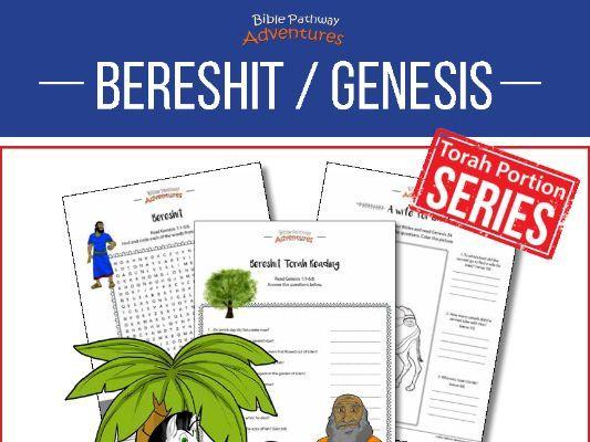 Bereshit | Genesis: Torah Portion Activity Book