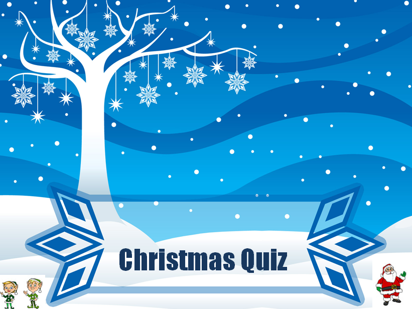 Christmas Quiz - made up of 5 rounds