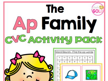 The Ap Family - CVC Activity Pack