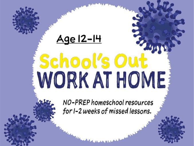 Prepare For Home Learning (12-14 years) Years 8-9