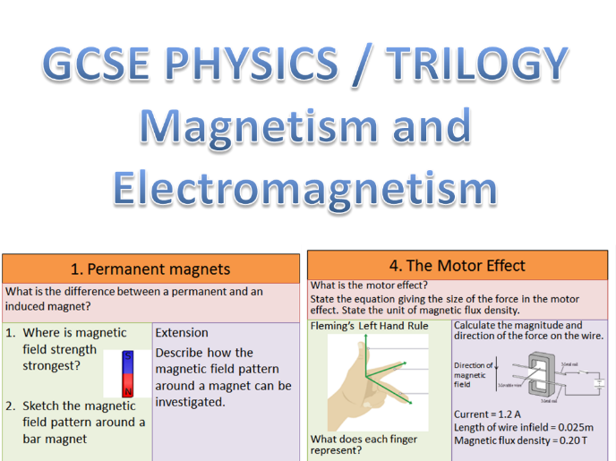 GCSE Physics AQA (1-9 ) Paper 2 Revision Quiz (Magnetism and Space)