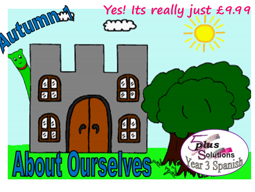Primary Spanish WHOLE UNIT: Year 3 Autumn 1 About Ourselves