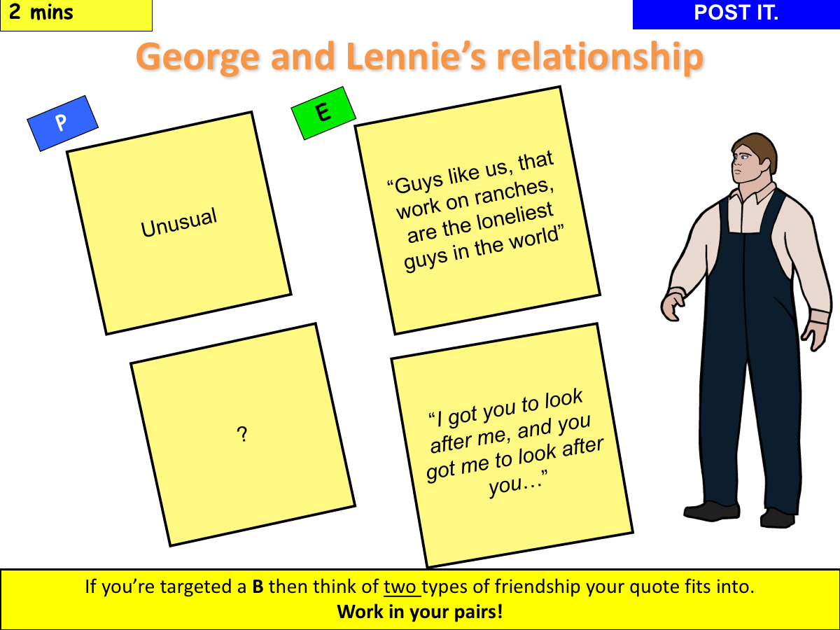 where are george and lennie going