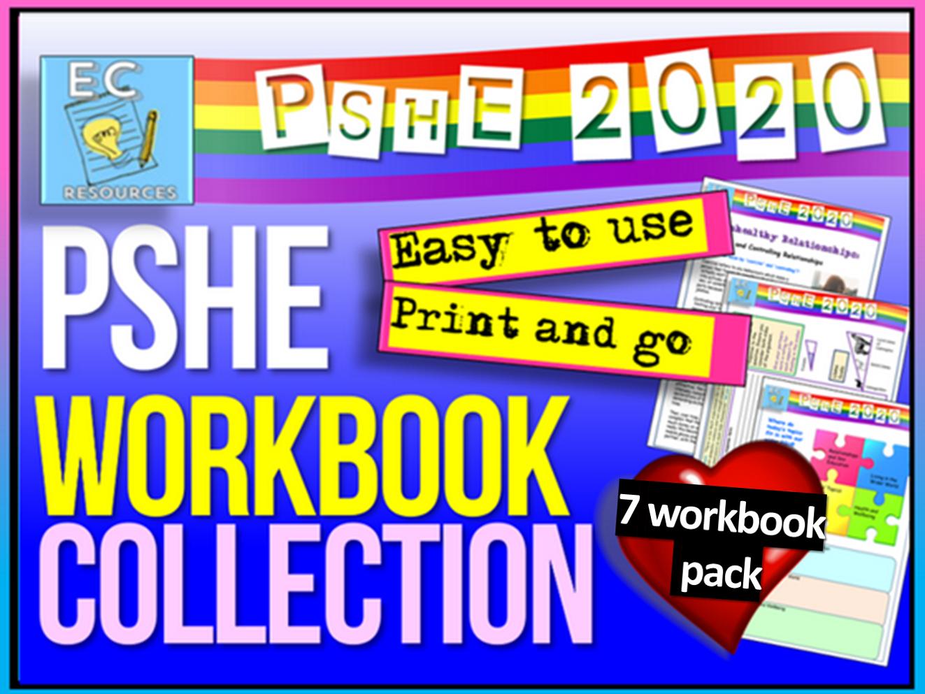 PSHE Workbook Mega Pack