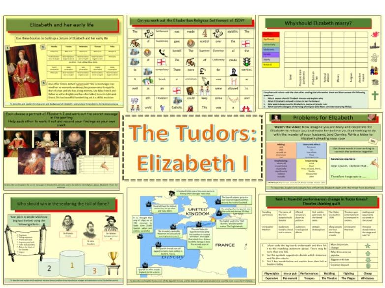 The Tudors: Elizabeth I (1558-1603) Bundle