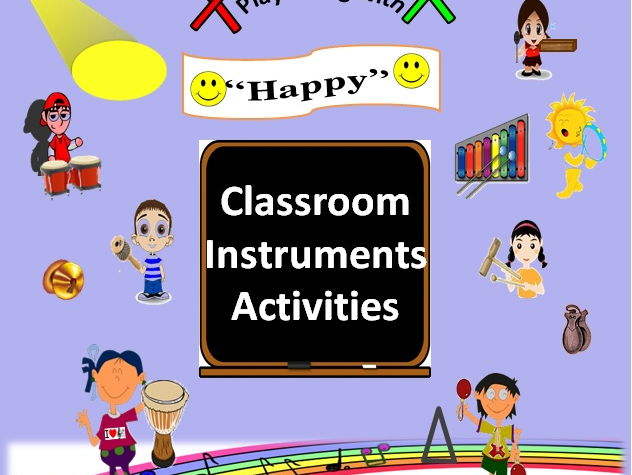 "Classroom Musical Instruments Play Along with ""Happy"" by, Pharrell Williams, Grades 3-6"
