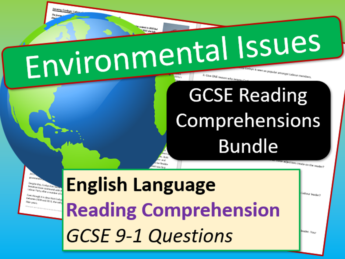 Environmental Reading Comprehensions