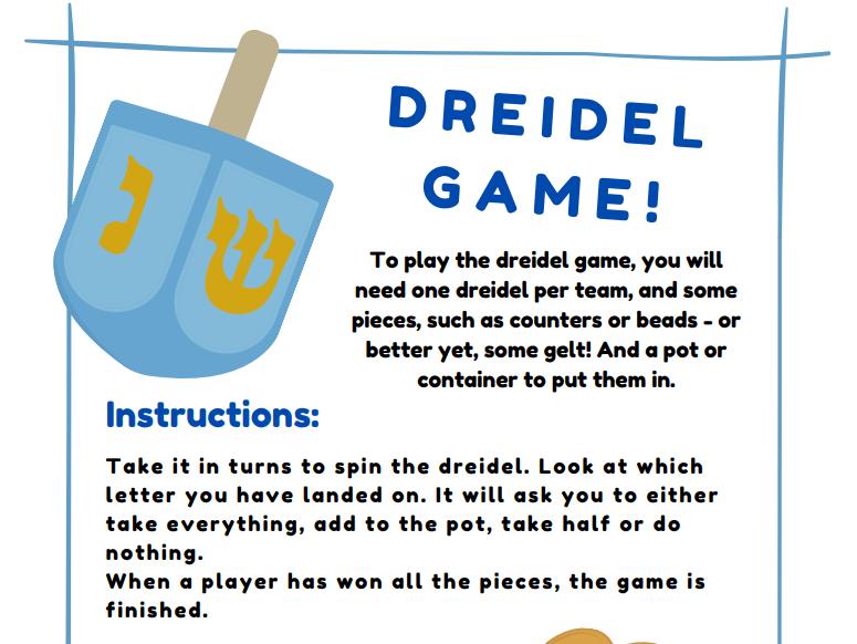 Dreidel Game