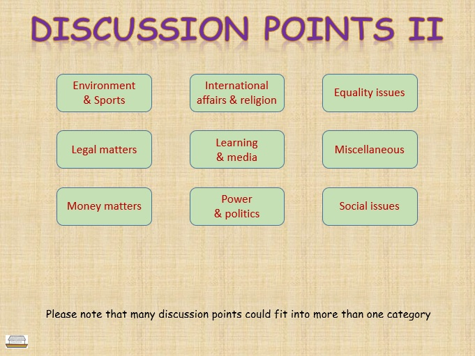 Discussion points volume 2
