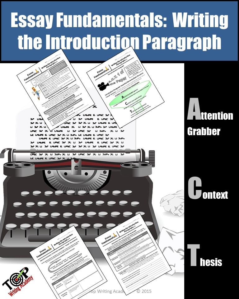 Introduction Paragraphs Essay Writing Fundamentals