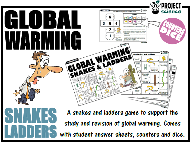 Global Warming Snakes and Ladders