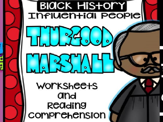 Black History - Influential People - Thurgood Marshall (Bilingual Set)